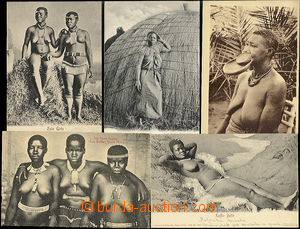 48461 - 1913 comp. 5 pcs of Ppc with nude or portraits African girls