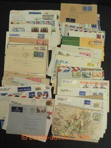 48476 - 1945-90 WW  sestava 100ks dopisů, starší i novější, Ev