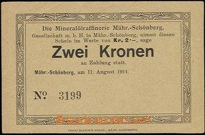 48531 - 1914 Mähr. Schönberg - rafinérie minerálních olejů, po