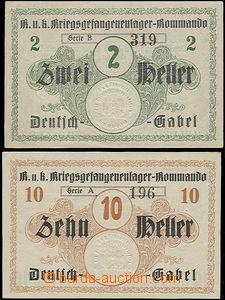 48533 - 19?? Deutsch-Gabel (Německé Jablonné), táborová platidl