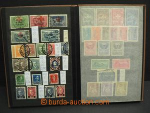 48536 - 1913-30 ALBANIA  comp. of cancelled stamps., contains i.a. M