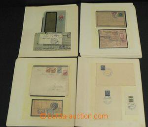 48789 - 1919-39 ČSR I.  menší sbírka celistvostí na 22 volných