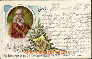 48805 - 1898 Franz Joseph I.  on the occasion of 50 years governance
