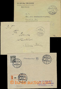 48810 - 1945-97 selection of 21 pcs of entires and 1 pcs of cut-squa