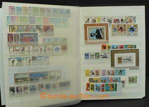 48839 - 1962-89 RWANDA  sestava zn. a aršíků, uloženo v 6-listov