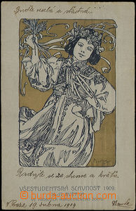 48878 / 3499 - Picture Postcards / Theme / Alfons Mucha