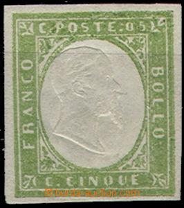 49094 - 1855 Mi.10, pea green, verde pisel tint, catalogue Michel do