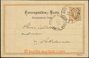 49161 - 1890 single circle cancel train post č.4(!) 15/10/90 on pos