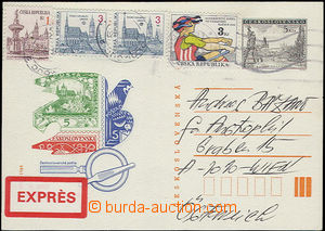 49195 - 1993 PC CZECHOSLOVAKIA 1945-92 CDV202 sent abroad as Express
