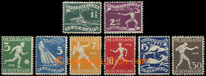 49225 - 1928 Mi.205-212, slight bends on several pieces, catalogue 2
