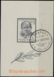 49246 - 1957 Pof.A967/II. Zápotocký, T II., special postmark, good q