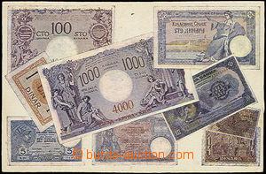 49298 - 1920 bank note/-s on Ppc, Yugoslavia; Un, worse cut