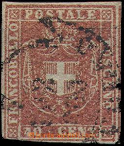 49375 - 1860 Mi.21, beautiful crimson tint, good cut, slightly timme