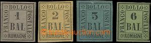 49381 - 1859 sestava 4ks, obsahuje Mi.2, 3, 4 a 7, většinou hezké