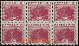 49389 - 1929 Mi.505 Krajinky, 6-blok, svěží, kat. 180€
