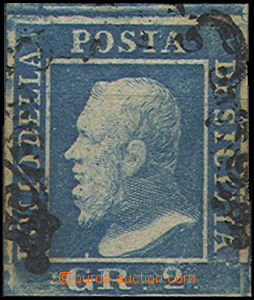 49396 - 1859 Mi.3c, dark blue, subtype without puntíku by/on/at nos