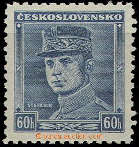 49406 - 1939 Alb.1, modrý Štefánik, luxusní, kat. 800Sk