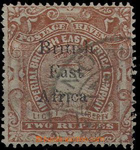 49485 - 1895 Mi.37 přetisková, 2 Rps, lehčí razítko částečn�