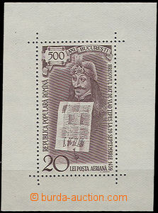 49512 - 1959 Block 44 (Mi.1801) kníže Vlad Tepes, dobrá kvalita, kat