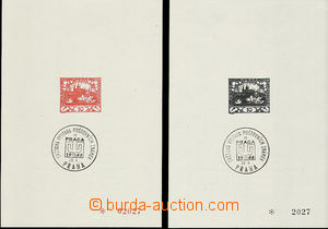49522 - 1968 Pof.PT5Aa + 5Ba, insert of Monograph I., both pieces wi