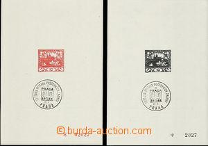 49522 - 1968 Pof.PT5Aa + 5Ba, příloha Monografie I., oba kusy s v�