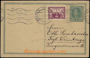 49544 - 1919 CPŘ3 s dofr. spěšnou zn. 2h, SR Praha 1/ 28.II.19, z