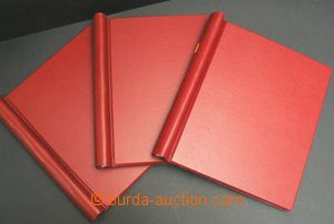 49578 -  3 pcs of spring folders (firm Abria?) on/for sheets with si