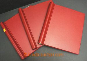 49582 -  3 pcs of spring folders (firm Abria?) on/for sheets with si