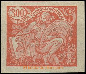 49589 - 1920 Pof.166N, nevydaná nezoubkovaná 300h, zk. Mrňák