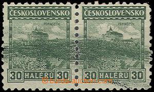 49591 - 1926 Pof.217, 30h Perštýn Malé krajinky, 2-páska s velko