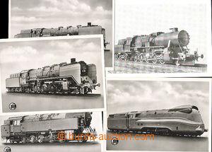 49685 - 1935 comp. 5 pcs of Ppc, engine/-s Deutsche Reichsbahn; larg