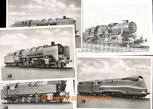 49685 - 1935 sestava 5ks pohlednic, lokomotivy Deutsche Reichsbahn;