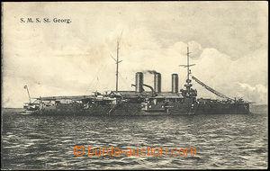 49686 - 1913 S.M.S. St Georg; prošlá, velmi lehké skvrny