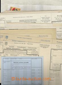 49709 - 1940-80 selection of 30 pcs of postal blank forms (dispatch-