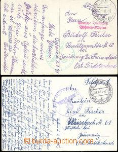 49801 - 1941 2x pohlednice, DR DDP BuM Iglau /b/ 2.1.41 a 3.4.41, 1x