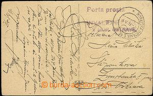 49808 - 1919 soukromá listovní zásilka (pohlednice) zaslaná v m�