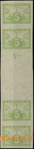 49813 - 1919 Pof.S2Ms, 4-známkové meziarší, nepřeloženo, zkou�