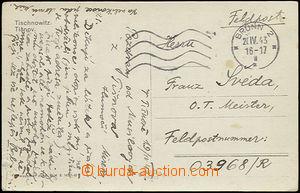 49848 - 1943 pohlednice bez frankatury zaslaná na FP 03968/R, SR Br