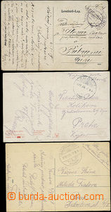 49858 - 1919 3 postcard Us FP without FP cachet postmarks, CDS Galgo
