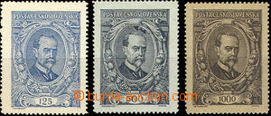 49860 -  Pof.140-142, complete set of, well centered, value 500h hin