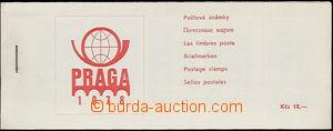 49904 - 1978 ZS PRAGA 1978, potisk destiček červený, známky Pof.