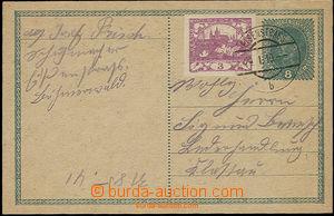 49917 - 1919 CPŘ3, dofr. zn. 3h Hradčany, luxusní DR Eisenstrass