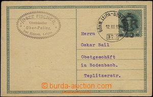 49977 - 1919 otisk předběžného razítka VLP č.373 Böhm Leipa -