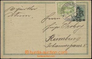 49994 - 1919 dopisnice CDV1 s pěkným otiskem raz. VLP č.73 Praha