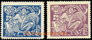 50006 - 1923 Pof.174A/ II.typ, zk. Karásek + 175B/III.typ, zk. Stu,