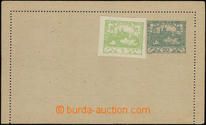 50027 - 1919 CZL1 omitted perf hole in R margin, clear with addition