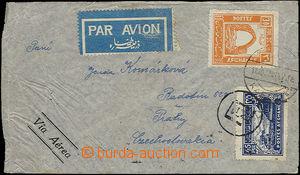 50153 - 1937 Let. dopis do ČSR, vyfr. zn. Mi.255, 260, 264, jedna zn