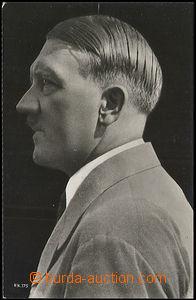 50184 - 1935? A. Hitler from profilu; Un, damaged corner