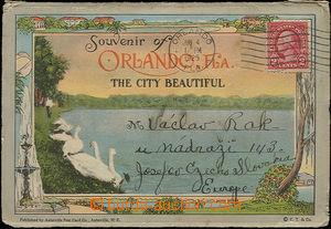 50215 - 1925 Orlando, Florida, skládané leporelo 20 barevných zá