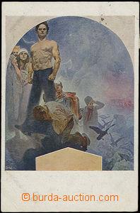50221 - 1920 MUCHA Alfons (1860–1939), Fresky - Obecní dům (Weill.14
